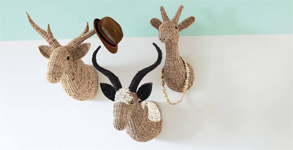 Mia Deer Wall Mount